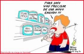 Dilma e o novo PAC (Plano de Aceleração da Campanha)