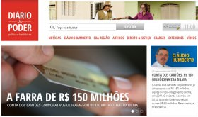 A farra continua: gastos com cartões corporativos chegam a 150 milhões
