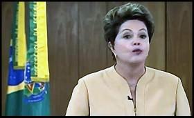 A presidente em campanha: Dilma bate recorde de pronunciamentos em rádio e televisão
