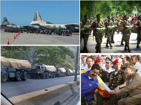 Maduro se prepara para enfrentar manifestantes com ajuda de tropa de elite cubana