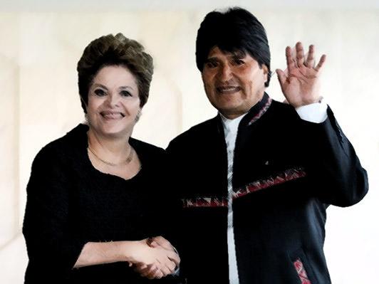 Governo Dilma libera 60 milhões para que Evo possa enfrentar o déficit energético na Bolívia