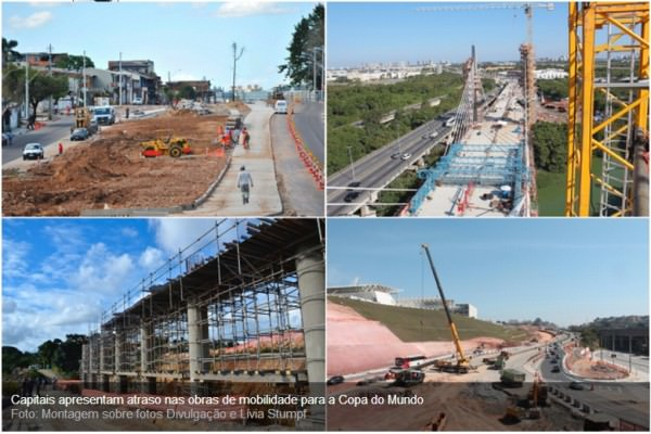 TCU desmente Dilma, e diz que apenas 16% das obras de infraestrutura turística para Copa serão concluídas