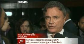 O debate sobre a CPI da Petrobras na Globonews