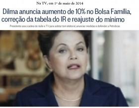 Por desinteresse do governo e aliados, medida de Dilma para reajustar tabela do Imposto de Renda fica na promessa