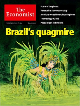 "The Economist: será difícil para este governo tirar o Brasil do ""atoleiro"""