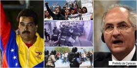 Repúdio à omissão do governo brasileiro em relação à violência e arbitrariedade da polícia de Maduro