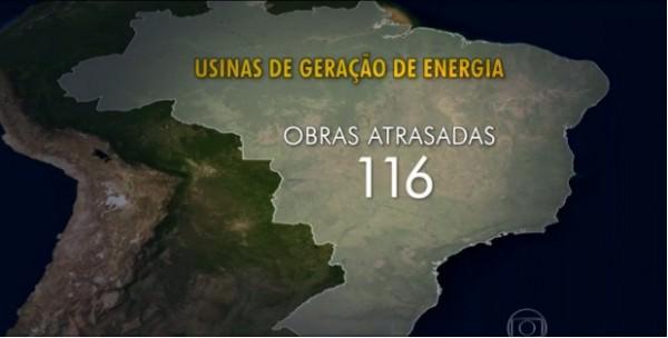 A marca da incompetência: atraso nas obras no setor elétrico custa R$ 65 bilhões ao País