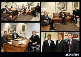 Visitas ao Senador Alvaro Dias