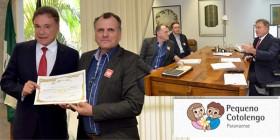 Senador recebe homenagem pelo apoio ao Pequeno Cotolengo