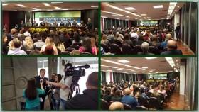 Palestra de Alvaro Dias no Encontro Estadual do Ministério Público, em Curitiba