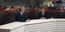 Alvaro Dias na TV Veja