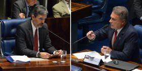 Elogios ao trabalho do procurador do TCU e defesa da competência do Senado para julgar Dilma