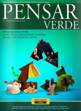 """Revista """"Pensar Verde"""", para discussão de um futuro com desenvolvimento sustentável no País"""