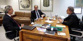 Embaixador do Paraguai discute com senador construção da segunda ponte de Foz