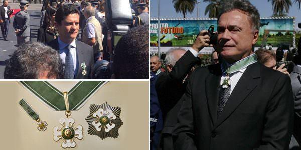 Alvaro Dias foi o único político a receber mais importante condecoração do Exército
